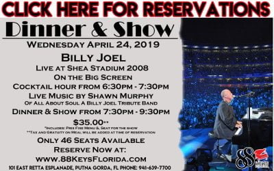 88 Keys Billy Joel Show Poster