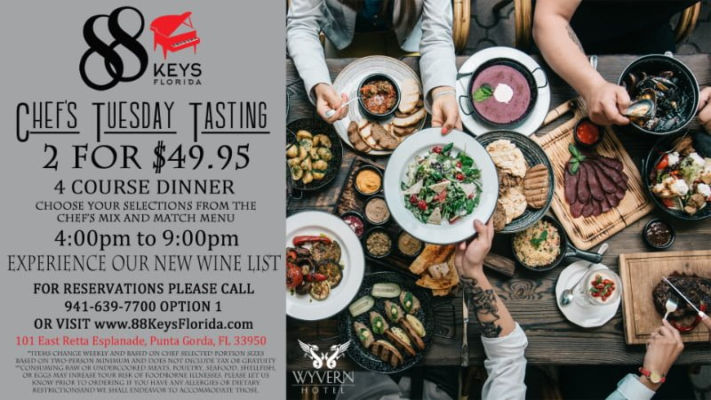 Chef's Tuesday Flyer