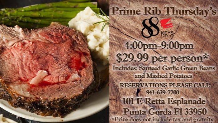 Prime Rib Thursday